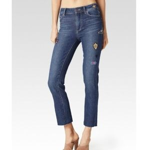 Paige  - Jacqueline Straight Cropped Jeans NWOT